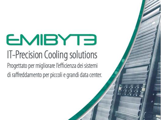 03/11/2020 - EMICON - EMIBYTE: Air Conditioning per Applicazioni Industriali - Macchine per il raffreddamento dei piccoli e grandi data center
