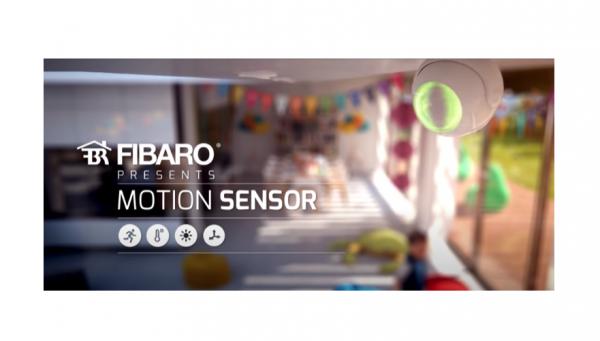 23/10/2020 - FIBARO - MOTION SENSOR il sensore di movimento, luce e temperatura