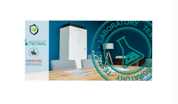 17/09/2021 - EMICON AIRFIX - Sanificazione Aria testata da UNIMORE e TECNAL